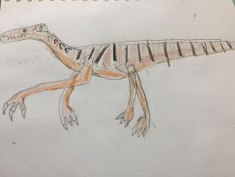 Cone Tooth the Suchomimus by ChinchillaChris67