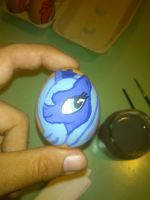 Princess Luna Easter Egg by varijani