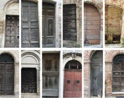 Old Doors Pack 1 by morana-stock