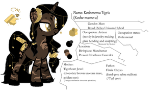: A Golden Delicacy ! : /new Pony OC by sharinqan