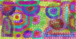 Pointillism Dotted Circles by TheMysteriousPoet