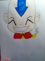 Chibi Aang by animation0124