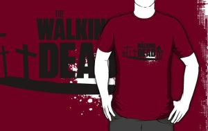 Walking Dead T-Shirt by drg