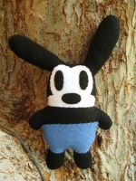 Oswald the Lucky Rabbit plush V2 by P-isfor-Plushes