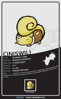 Ciniswili - The Baking Pokemon by Concore