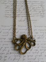 Necklace with octopus for my new cosplay costium by SteamJo