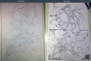Process pencils by biroons