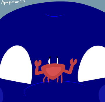Bubs' Crab Friend by AquaPicture