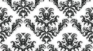 Vector damask seamless pattern by T3hSpoon