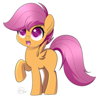 MLP Scootaloo by haydee