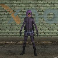 XNA Hit-Girl by X-N-A
