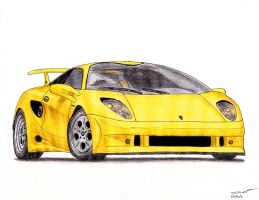1185 - 1995 Lamborghini Cala by TwistedMethodDan