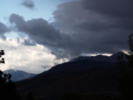Clouds in the Valley by RLDStock