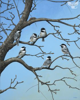 Chickadee Concourse by ART-fromthe-HEART