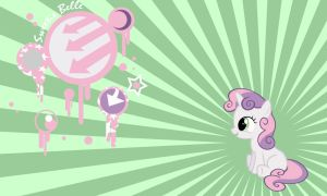 Sweetie Belle Wall by Evilarticfox