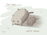 Too lazy by JayLu