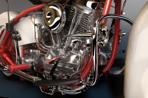 Panhead Engine 1 by parleee