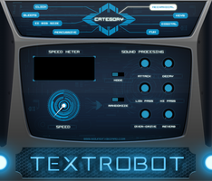 TEXTROBOT plugin UI for Kontakt by satYatunes