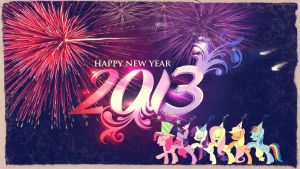 ~ Happy New Year ~ by Angelicsweetheart