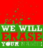 We will erase your by kajire