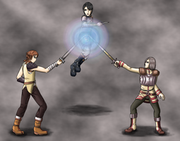 Request - Adonis Attack - Suikoden IV by Hemuvel