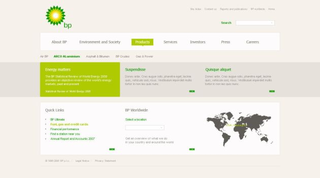 BP Global by NorthernDesign