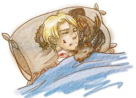 [Anduin Wrathion] Are you warm now? by Athena-Erocith
