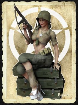 U.S. Ranger by Riguel by Riguel3d