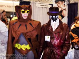 Rorschach - Comic-con 2009 IV by williamshade