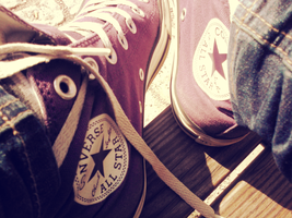 summer and i wear converse by CopycatII