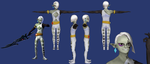 Ghirahim 2nd Form Reference by ShrubbyNerb