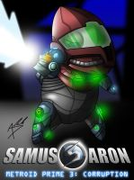 Samus Aron MP3 Edition by Arbok-X