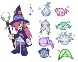 Witch and some cursed ghost by rongs1234