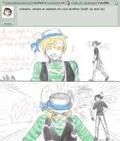 1P's Cuter- OW! :7: by Ask-2P-Spamano
