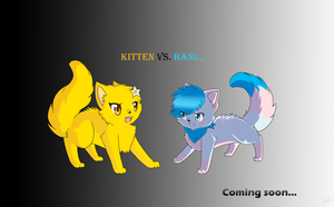 Kitten VS. Bani by bdugo7