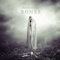 Bones CD/Book Cover by Corvinerium