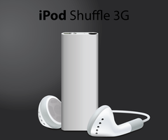 iPod shuffle 3G by Andy202