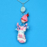 Sylveon Necklace by Loreleiwave