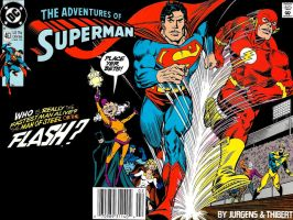 Adventures Of Superman 463 by Superman8193