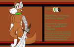 Horsemon Ref Sheet(Plus Redesign) by cutedog132