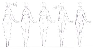 Some Body Forms I Like To Draw 2 by rika-dono