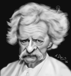 Mark Twain by adavis57