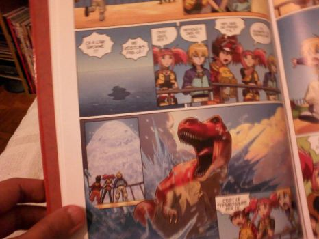 Dinosaur King book 1 page by UltimateRubberFool