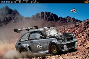 Fiat 126P Pikes Peak Edition by 19JB92