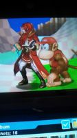 Smash Bros 3DS Screenshot 13: The Mage and Monkey by sonicrocker