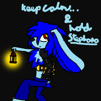 Keep Calm and Hold Stephano by LotG
