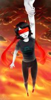 Homestuck Upd8 Terezi by InuLoverNr1Hitomi