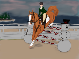 Snowdrift Grand Prix by silvershore