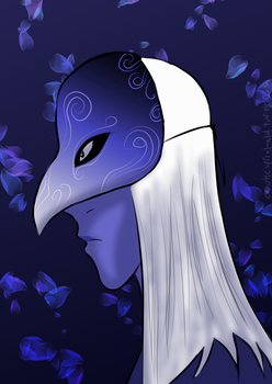 Saddening Mask by chaoticspiral-w101