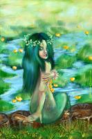 .005 Water Lily by NoirArt